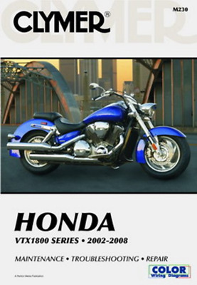 New Clymer Workshop Manual Honda VTX1800 2002-2008 Service Repair