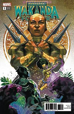 Wakanda Forever Avengers #1 Putri Connecting Variant Cover Black Panther 2018