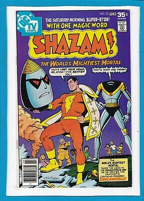 Shazam #33_February 1978_Vf Minus_The World's Mightiest Mortal_Dc Tv Comic!