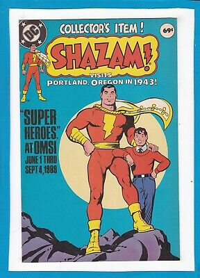 Shazam! Visits Portland, Oregon In 1943 #1_ 1974_Nm Minus_Collector's Item_Dc!