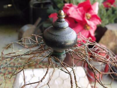 Old Primitive Vintage Shoo-Fly Dome Cover Made From Antique Pull & Chicken Wire