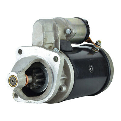 New Starter fits Toyota Forklifts 3P 4P Gas 12 Volt 9 Tooth 2810031030 280-7009
