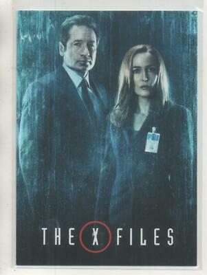 """The X-Files DOUBLE-SIDED """"The X-Files Returns"""" Promo Trading Card"""
