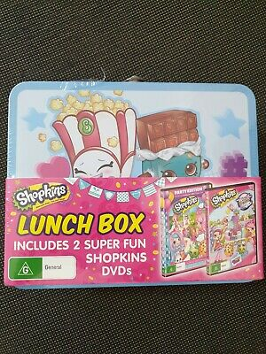 Shopkins - Chef Club - Party Edition (DVD, 2018, 2-Disc Set) BRAND NEW Free post