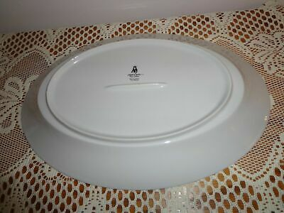"Crown Ming Fine China Jian Shiang Michelle 14"" Oval Serving Platter"