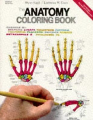 The Anatomy Coloring Book, 2nd Edition by Wynn Kapit, Lawrence M. Elson, Good Bo