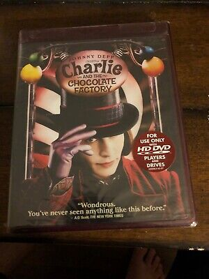 charlie and the chocolate factory Hd Dvd