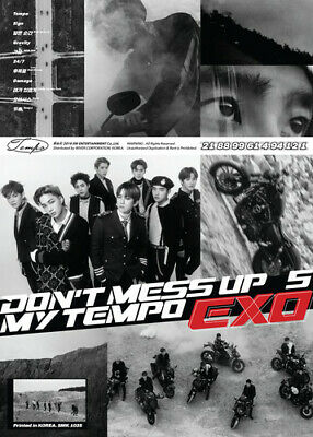 Audio Cd Exo - Exo The 5Th Album 'Don'T Mess Up My (Allegro Ver.)