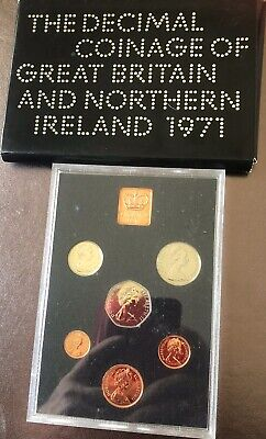 Royal Mint 1971 Year Set , As Issued