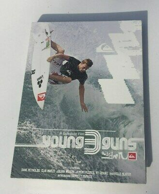 ** Quiksilver ** Young Guns Surfing Dvd Twin Pack - 2 Discs - New