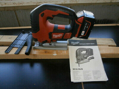 Milwaukee M18BJS-0 18V Heavy Duty Jigsaw Battery included