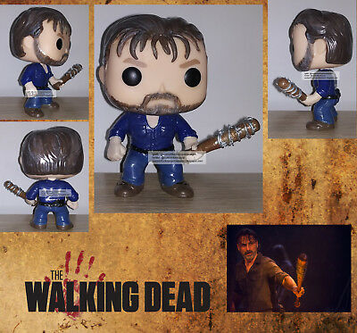 The Walking Dead Custom Funko Pop Rick Grimes with Lucille - Andrew Lincoln