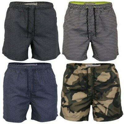 bce9168f67 Mens Swimming Shorts Brave Soul Camo Military Trunks Mesh Lined Beach  Summer New