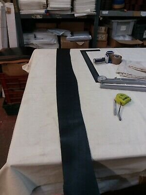 Black Leather HIDE panel 2.3-2.4mm thick REENACTMENTS CRAFTS  lot 95
