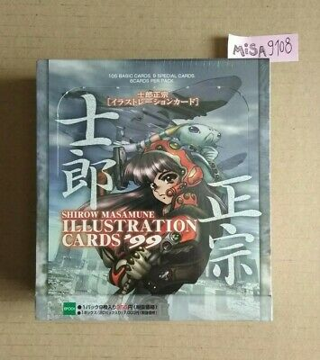 Masamune Shirow Illustration Cards '99 - SEALED BOX - FREE SHIPPING