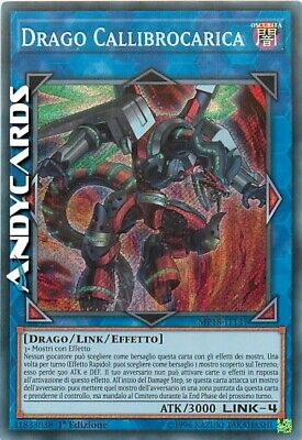 DRAGO CALLIBROCARICA (Borreload Dragon) • Segreta • MP18 IT131 Yugioh ANDYCARDS