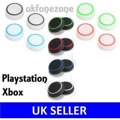 Controller Grips Thumb Joy Stick Cap Cover For PS4 PS3 Xbox One 360 Playstation