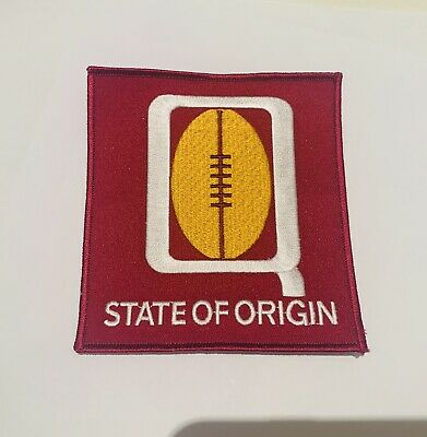 State Of Origin Nrl Patch Badge Iron On