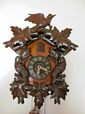 Antique Black Forest  Cuckoo Clock...fully serviced/restored.