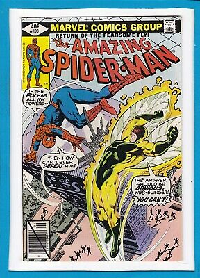 """Amazing Spider-Man #193_June 1979_Very Fine+_""""return Of The Fearsome Fly""""!"""