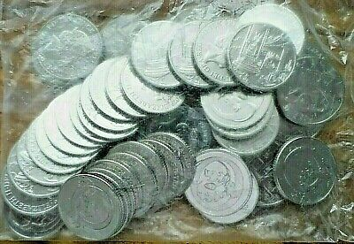 SEALED BAG of 50 (P ,O & Q) - A-Z Alphabet (2019) 10p Coins Letters Uncirculated