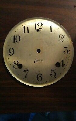 Sessions Clock Face with Bezel and Glass