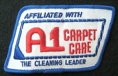 Carpet Care Embroidered Sew Iron On Patch A 1 Cleaning Leader Advertising