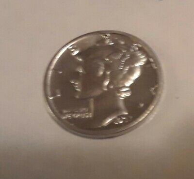 Mercury Dimes1916-1945 , 90% Silver Coin , Circulated, Choose How Many10 for 25$