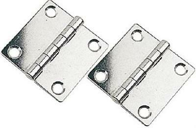 pair Stainless Steel Hatch Hinges Extra Long Sea Dog 205285