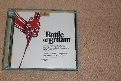Ron Goodwin   Battle Of Britain  Deluxe Edition  Oop Mgm Soundtrack Cd / Walton