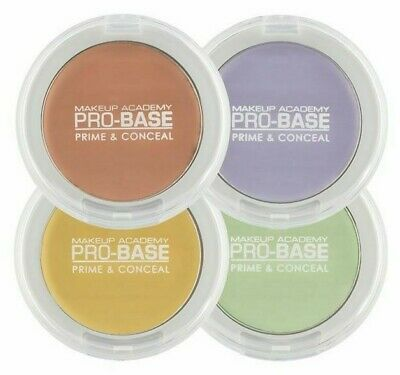 MUA Make Up Academy Pro-Base Prime & Conceal Correcting Cream 3.4g *ALL SHADES*