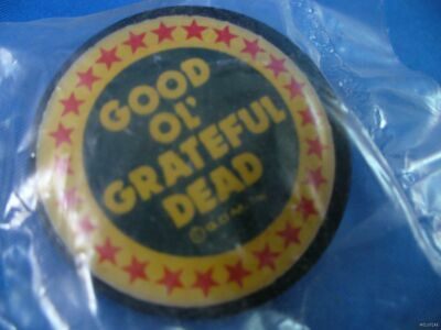 VINTAGE 80S GOOD OL' GRATEFUL DEAD TOUR PIN lapel button pinback art greatful