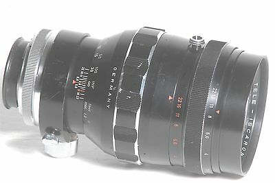 Isco-Gottingen 180mm f/2.8 Tele-Iscaron Camera Lens For Exakta External Mount