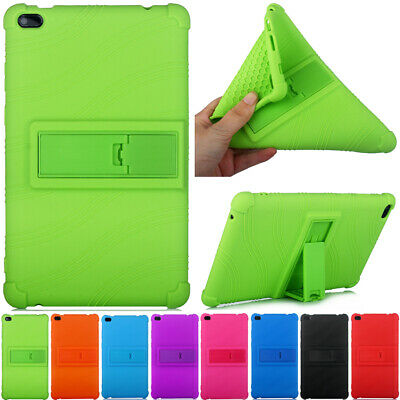 For Lenovo Tab E8 TB-8304F1 Tablet Stand Soft Silicon Rubber TPU Back Cover Case