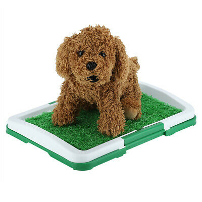 for Puppy Pet Potty Training Pee Indoor Toilet Dog Grass Pad Mat Turf Patch