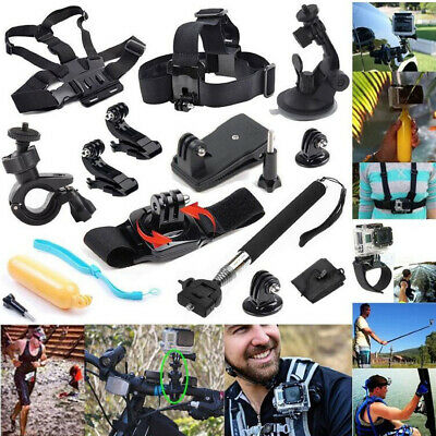 14In1 Sport Action Camera Accessory Kit For Gopro Hero Sj4000 Xiaomi Cycle P3L9