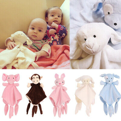 Babies 3D Elephant Cuddly Comforter Blanket Novelty Soft Newborn Baby Shower