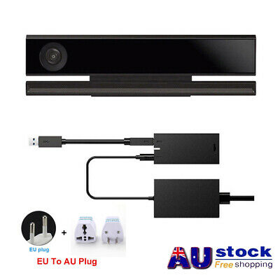 AU PC Adapter Power-Supply For Microsoft Xbox One S X Kinect 2.0 Sensor Win-8/10