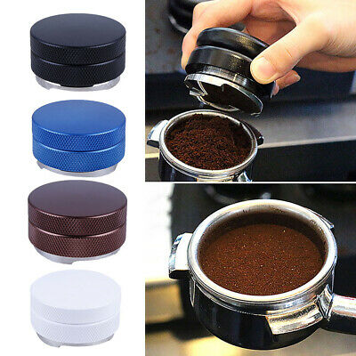 58mm Espresso Powder Distributor with Three-Angled-Slopes Base Coffee Tamper