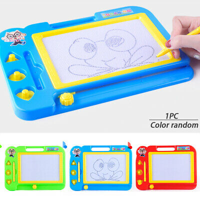 Children Magnetic Drawing Board Toy Toddler Doodle Writing Pad Learning Toys AU