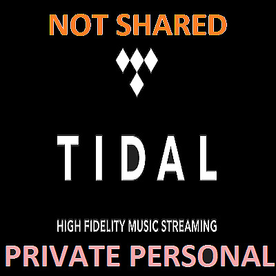 TIDAL Hi-Fi FAMILY Plan  6 Users 3 Months 1 DAY SHIPPING