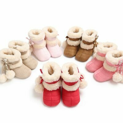 New Style Winter Newborn Toddlers Baby Shoes Warm Boots First Walkers Infant