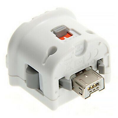 Original Nintendo Wii Motion Plus Adapter for Wii Remote Controller White QY AU