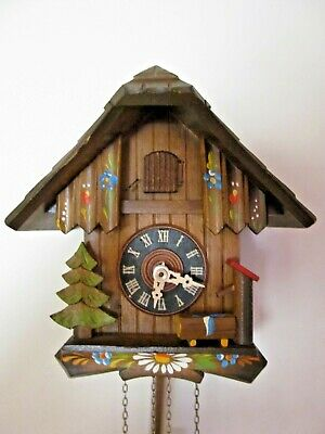 Black forest Chalet cuckoo clock..