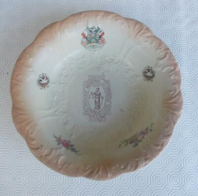 Vintage Eccles Provident Industrial Co-Operative Society 1914-1919 Peace Bowl