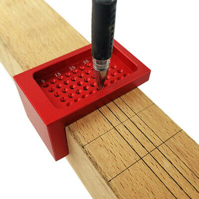 Woodworking Scriber T-type Ruler Hole Scribing Gauge Measuring Tool New