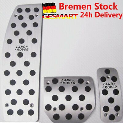 Aluminum Car Sport Foot Pedals Cover Land Rover Discovery Range Rover Sport