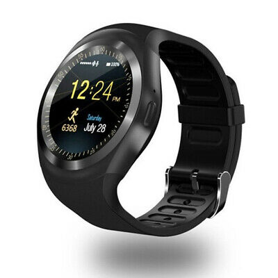 Bluetooth Y1 Smart Watch Armbanduhr Sport Fitness GSM Kamera Wasserdicht Android
