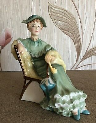ROYAL DOULTON LADY ASCOT MODEL No. HN 2356 PERFECT  GREEN DRESS