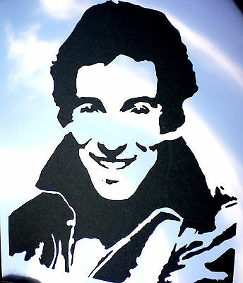 high detail airbrush stencil bruce springsteen FREE UK POSTAGE